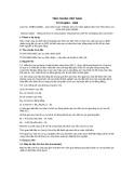 Tiêu chuẩn Việt Nam TCVN 6094:1995