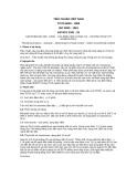 Tiêu chuẩn Việt Nam TCVN 6020:1995 - ISO 3830:1981