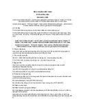 Tiêu chuẩn Việt Nam TCVN 6335:1998 - ISO 6841:1988