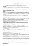 Tiêu chuẩn Việt Nam TCVN 6435:1998