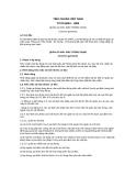 Tiêu chuẩn Việt Nam TCVN 6054:1995