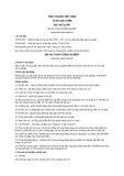 Tiêu chuẩn Việt Nam TCVN 6407:1998 - quy định yêu cầu kỹ thuật, phương pháp kiểm tra và ghi nhãn đối với mũ an toàn công nghiệp.