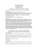 Tiêu chuẩn Quốc gia TCVN 7945-1:2008 - ISO 10648-1:1997