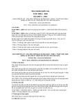 Tiêu chuẩn Quốc gia TCVN 7899-1:2008 - ISO 13007-1:2004