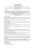 Tiêu chuẩn Quốc gia TCVN 7891:2008