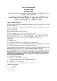 Tiêu chuẩn Việt Nam TCVN 6444:1998 - ISO 6597:1980