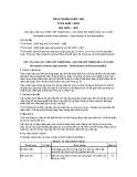 Tiêu chuẩn Quốc gia TCVN 4643:2009 - ISO 4022:1987