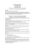 Tiêu chuẩn Việt Nam TCVN 5209:1990