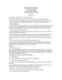 Tiêu chuẩn Việt Nam TCVN 4359:1996