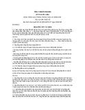 Tiêu chuẩn ngành 22 TCN 221:1995