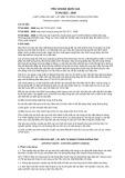 Tiêu chuẩn Quốc gia TCVN 6022:2008 - ISO 3171:1988