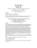 Tiêu chuẩn Việt Nam TCVN 5200:1994 - ISO 9000:1987