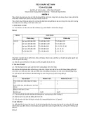 Tiêu chuẩn Việt Nam TCVN 4732:1989