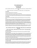 Tiêu chuẩn Quốc gia TCVN 4407:2010 - ISO 638:2008