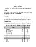 Quy chuẩn kỹ thuật Quốc gia QCVN 38:2011/BTNMT