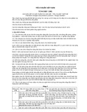 Tiêu chuẩn Việt Nam TCVN 5307:1991