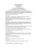 Tiêu chuẩn Việt Nam TCVN 5245:1990 - ISO 6632-1981