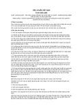 Tiêu chuẩn Việt Nam TCVN 5295:1995