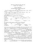 Phụ lục hợp đồng chuyển nhượng quyền sử dụng đất
