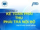 Bài giảng Kế toán tài chính III: Chương 2 (tt) - ĐH Kinh tế TP.HCM