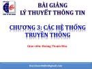 Bài giảng Lý thuyết thông tin: Chương 3 - Hoàng Thanh Hòa
