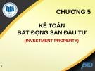 Bài giảng Kế toán tài chính II: Chương 5 - ĐH Kinh tế TP.HCM