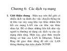 Bài giảng Mạng máy tính: Chương 6 - ThS. Huỳnh Thanh Hòa