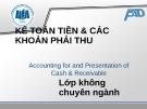 Bài giảng Kế toán tài chính: Chương 2 - ĐH Kinh tế TP. HCM