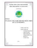 Báo cáo chuyên đề: Ứng dụng công nghệ sinh thái trong thiết kế và vận hành bãi chôn lấp