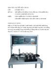 Bài tập lớn Cơ điện tử: Hệ thống tự động cung cấp, gia công, kiểm tra và phân loại phôi dùng PLC