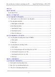 Báo cáo khoa học: Lý thuyết và mô phỏng cây AVL