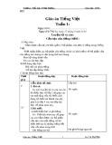 Giáo án Tiếng Việt lớp 4