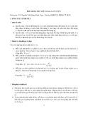 Bài giảng Xác suất (Dành cho HS THPT)
