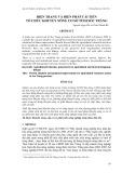 Hiện trạng và biện pháp cải tiến tổ chức khuyến nông cơ sở tỉnh Sóc Trăng