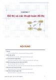 Bài giảng Chương 7: Đồ thị và các thuật toán đồ thị