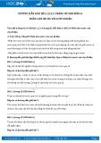 Hướng dẫn giải bài 1,2,3,4 trang 82 SGK Sinh học 6