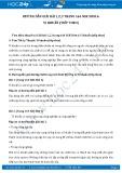 Hướng dẫn giải bài 1,2,3 trang 164 SGK Sinh học 6