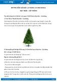 Hướng dẫn giải bài 1,2 trang 134 SGK Sinh học 6