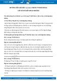 Hướng dẫn giải bài 1,2,3,4,5 trang 79 SGK Sinh học 6