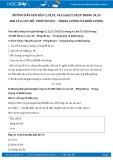 Hướng dẫn giải bài C1,C2,C3,C4,C5,C6 trang 34 SGK Vật lý 6