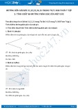 Hướng dẫn giải bài 31,32,33 trang 70 SGK Hình học 7 tập 2