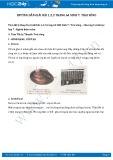 Hướng dẫn giải bài 1,2,3 trang 64 SGK Sinh học 7