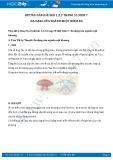 Hướng dẫn giải bài 1,2,3 trang 35 SGK Sinh học 7