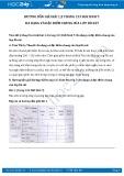 Hướng dẫn giải bài 1,2 trang 133 SGK Sinh học 7
