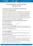 Hướng dẫn giải bài 1,2,3 trang 198 SGK Sinh học 7