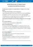 Hướng dẫn giải bài 1,2,3 trang 81 SGK Sinh học 7