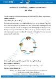 Hướng dẫn giải bài 1,2,3,4 trang 115 SGK Sinh học 7