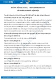 Hướng dẫn giải bài 1,2 trang 184 SGK Sinh học 7