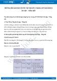 Hướng dẫn giải bài tập ôn tập học kỳ 2 trang 207 SGK Sinh 8