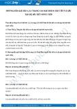 Hướng dẫn giải bài 1,2,3 trang 124 SGK Sinh 8
